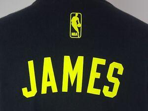 924df80548c Adidas LeBron James Miami Heat T-Shirt Jersey Men s Size Large MVP ...