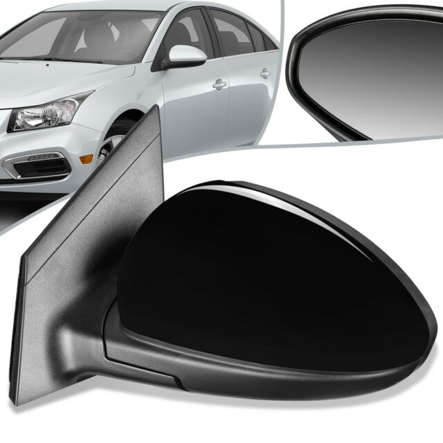 Side View Power Mirror Smooth Black Driver Left LH for 03-08 Toyota Corolla