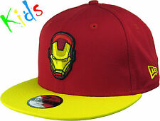 Iron Man New Era 950 Hero Essential Kids Snapback Cap (Age 5 - 10 Years)