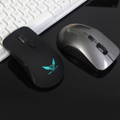 2.4Ghz Rechargeable Mini Wireless Optical Mouse 6D Gaming USB Mice For PC Laptop