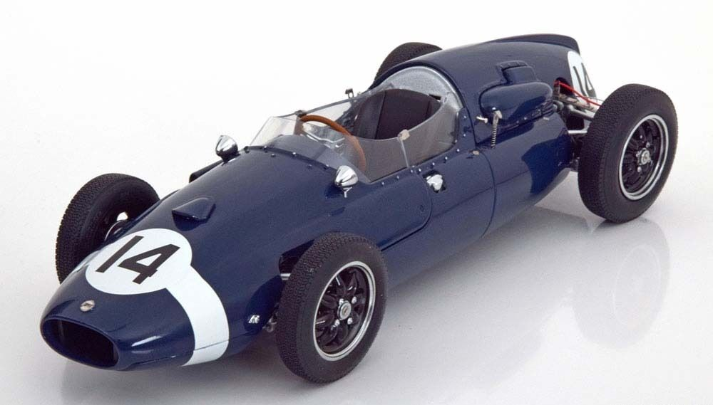 Schuco Cooper T51 Winner GP  1959 Moss LE of 1500 1 18 Scale New