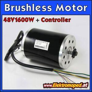 Onderdelen-elektrische-Scooters-Engine-Motor-brushless-Tuning-48V-1600W