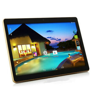 "10"" inch Android 5. Octa-Core 64GB Tablet PC Dual SIM 3G WIFI HD Bluetooth US"