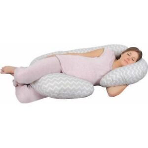 BRAND-NEW-Leachco-Sleeper-Keeper-Gray-TOTAL-BODY-PILLOW-WA16