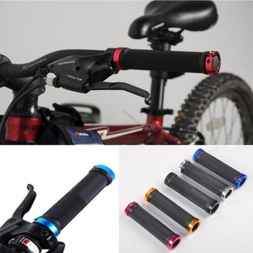 Rubble MTB BMX Bike Bicycle Double Lock On Locking Cycling Handle Bar Grips