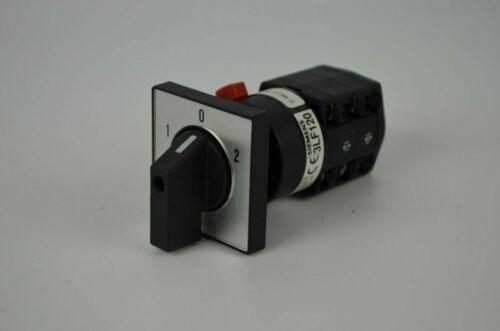 Siemens Control Switch 3LF120 0-4BC21 //// 3LF1200-4BC21