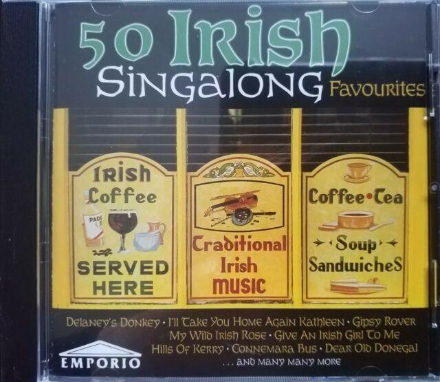 50 Irish Singalong Favourites - Various Artists ( CD Album 2002)