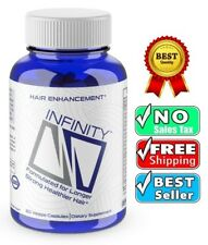 Infinity Hair Vitamins For Faster Growth W Organic Nuflow Longer