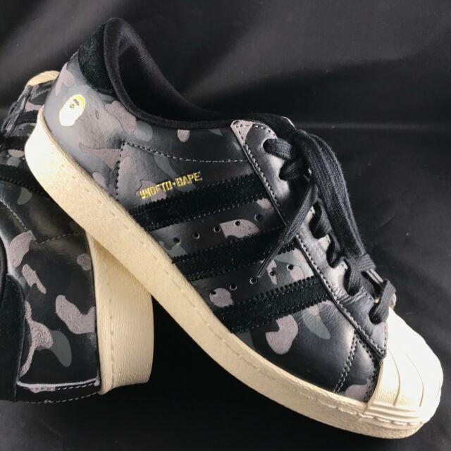 adidas superstar 80s undftd bape black camo