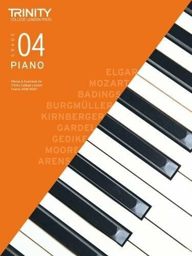 Trinity College Piano Pieces & Exercises 2018-20 Grade 4 (NEW)