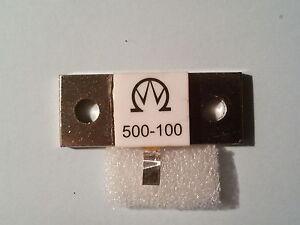500 W 100 Ohms 1 Ghz Dummyload Resistor/résistance-stand Afficher Le Titre D'origine