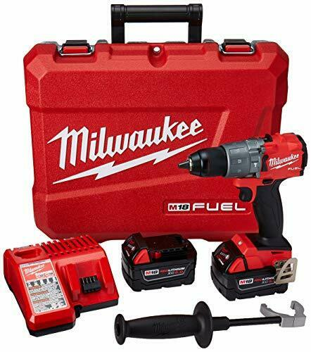 Milwaukee 2804-22 - M18 Fuel Hammer Drill Kit. Buy it now for 219.99