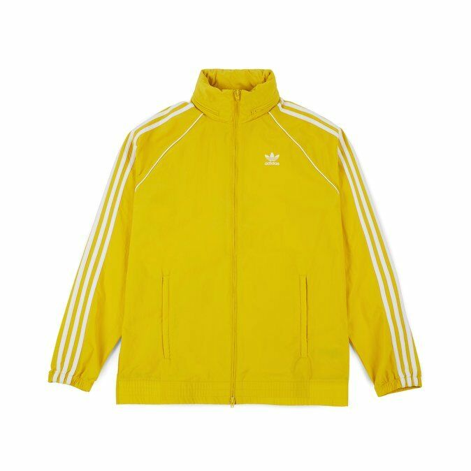Adidas Super Star Windbreaker CW1312 Yellow TERRACES CASUALS AWAYDAYS