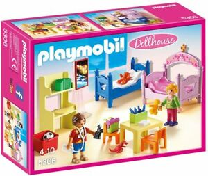 Playmobil-Children-039-s-Room-Playset-5306-NEW-Box-Damaged-VERY-RARE