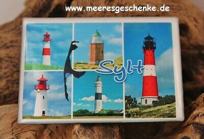 Kühlschrankmagnet,Magnetschild,Magnet I`Love Sylt II