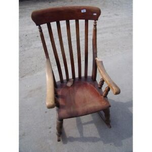 Astonishing Details About Antique Late Victorian Edwardian C1900 Cottage Style Rocking Chair Onthecornerstone Fun Painted Chair Ideas Images Onthecornerstoneorg