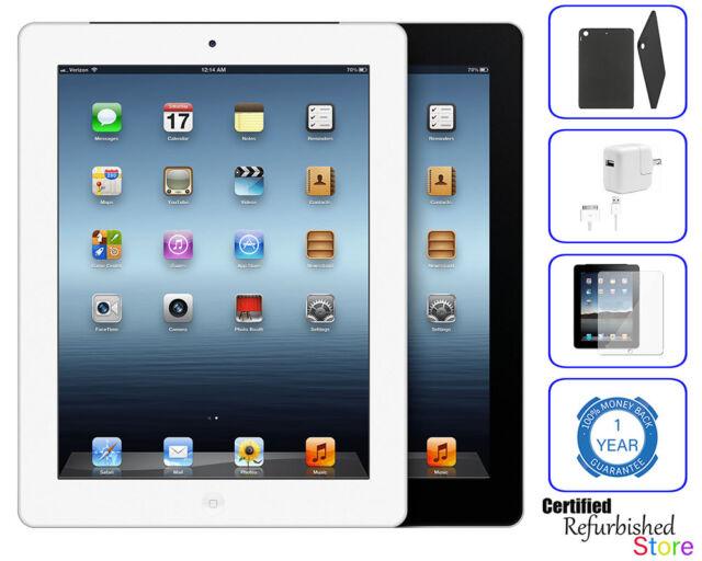 Apple iPad 2nd Gen Black/White 16GB 32GB 64GB -- Wi-Fi Tablet USA Trusted Seller