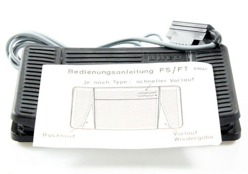 NEU Foot Control baugleich mit Assmann FT 60 Uher FS 160 Fußschalter