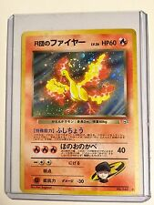 Pokemon TEAM ROCKET's MOLTRES No.146 JAPANESE Gym HOLO Rare MINT CONDITION