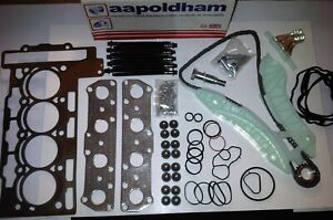 BMW-MINI-ONE-amp-COOPER-R56-R57-R58-1-6-HEAD-GASKET-SET-BOLTS-amp-TIMING-CHAIN-KIT
