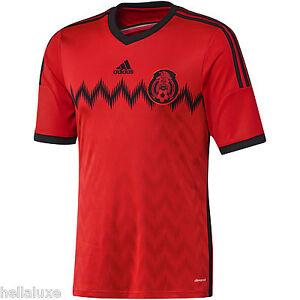 018e6b5b7 nw-Adidas MEXICO FMF Football Soccer Shirt Brazil 2014 WORLD CUP ...