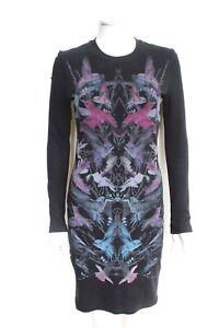 McQ-Alexander-McQueen-Hummingbird-print-stretch-jersey-mini-dress-M