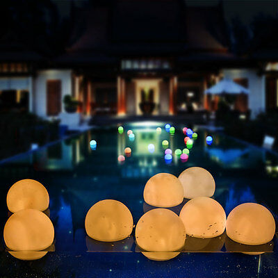 Mood Light Garden Deco Ball LED Warm White Floating Ball For Pool Ponds & Party