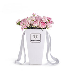 sweet gift presentation boxes plants glossy living vase ml bouquet