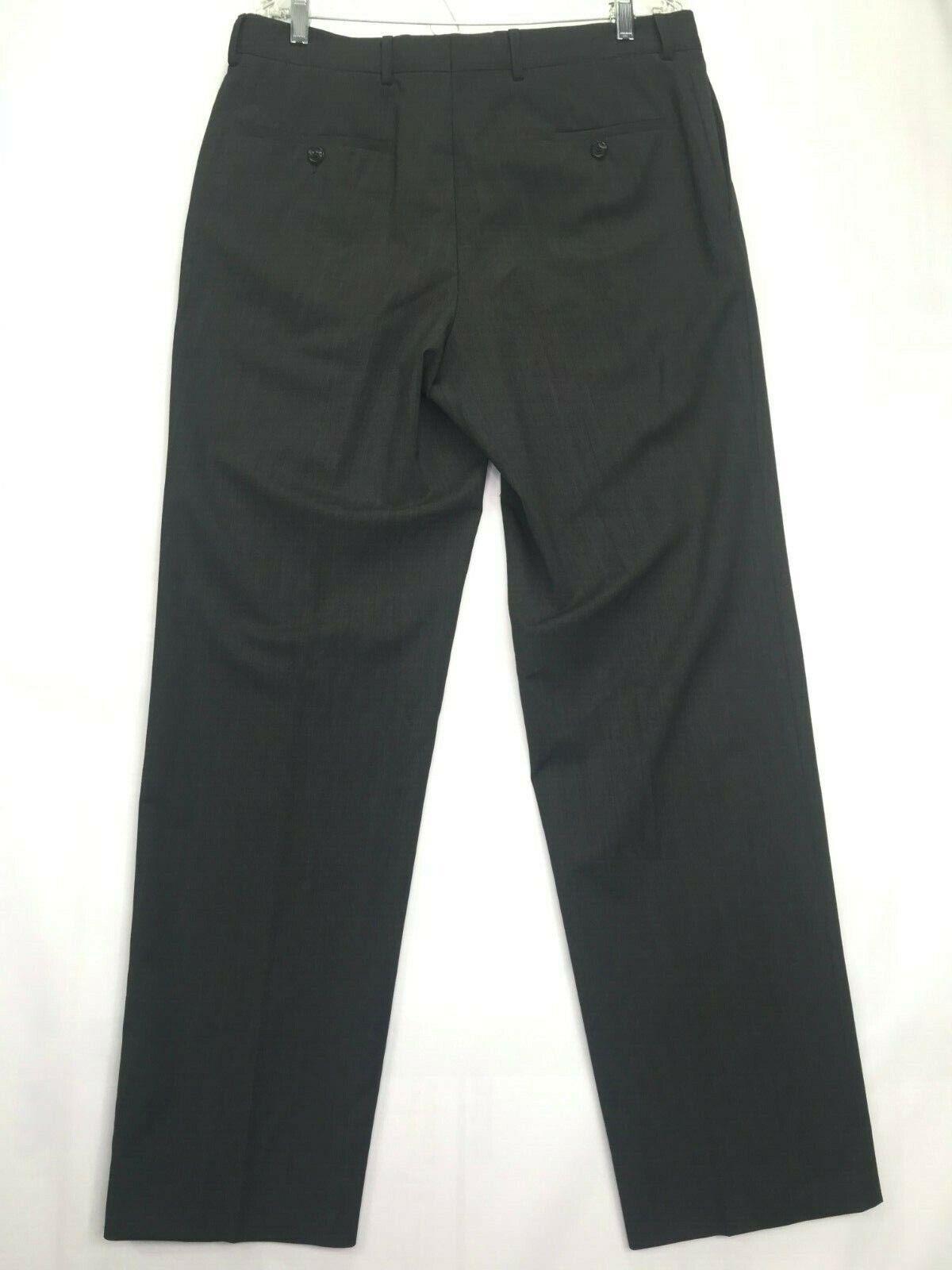 Mens Hugo Boss James Brown Dress Pants SIZE 34Rx3… - image 2