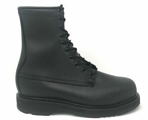 "Bates 1950-B Mens 8/"" Army//Navy Black Steel Toe Boot FAST FREE USA SHIPPING"
