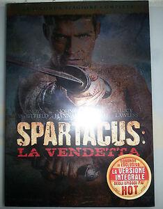 SPARTACUS-LA-VENDETTA-Stagione-02-BOX-4-DVD-NUOVO-E-SIGILLATO-PRIMA-STAMPA