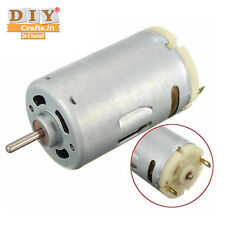 DIY Crafts®Work DC 12V Motor Large Torque High Speed Electric Motor Power Toolb
