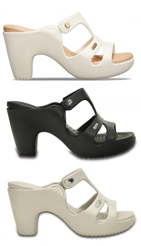 Crocs Cyprus V Hell W Women's Shoes Sandals Flip Flops Slippers Sea Clogs Heel