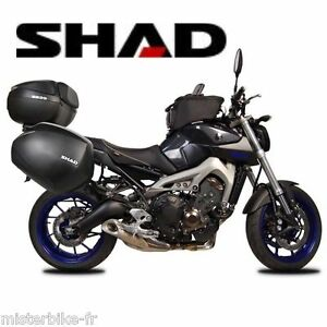 Support-valises-laterales-SHAD-YAMAHA-3P-SYSTEM-MT-09-bagages-NEUF-new-fittings