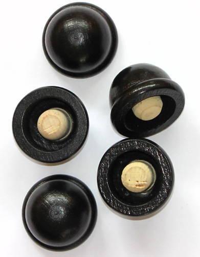 5 Korken 16mm Runder Kunststoff Hut Korken