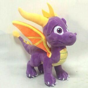 The-Legend-of-Spyro-the-Dragon-Game-Plush-Toy-Stuffed-Doll-Figure-10-034-Xmas-Gift