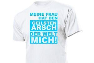 Camiseta-Divertida-Dicho-Gracioso-mi-Mujer-Hat-Den-mas-Caliente-Culo-el-Welt-Gr
