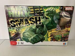 Milton Bradley Incredible Hulk Smash Board Game Marvel -