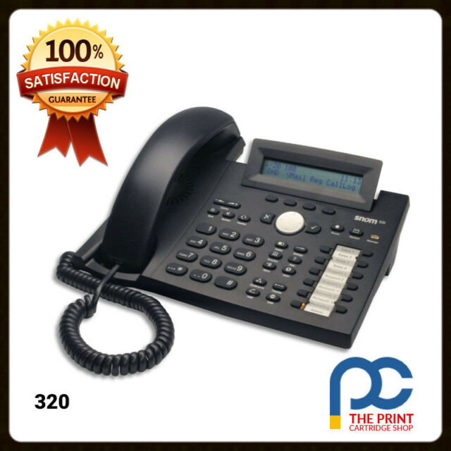 SNOM 320 VOIP TELEPHONE HANDSET  3 MONTHS WTY DELIVERY & GST INC IN THE PRICE