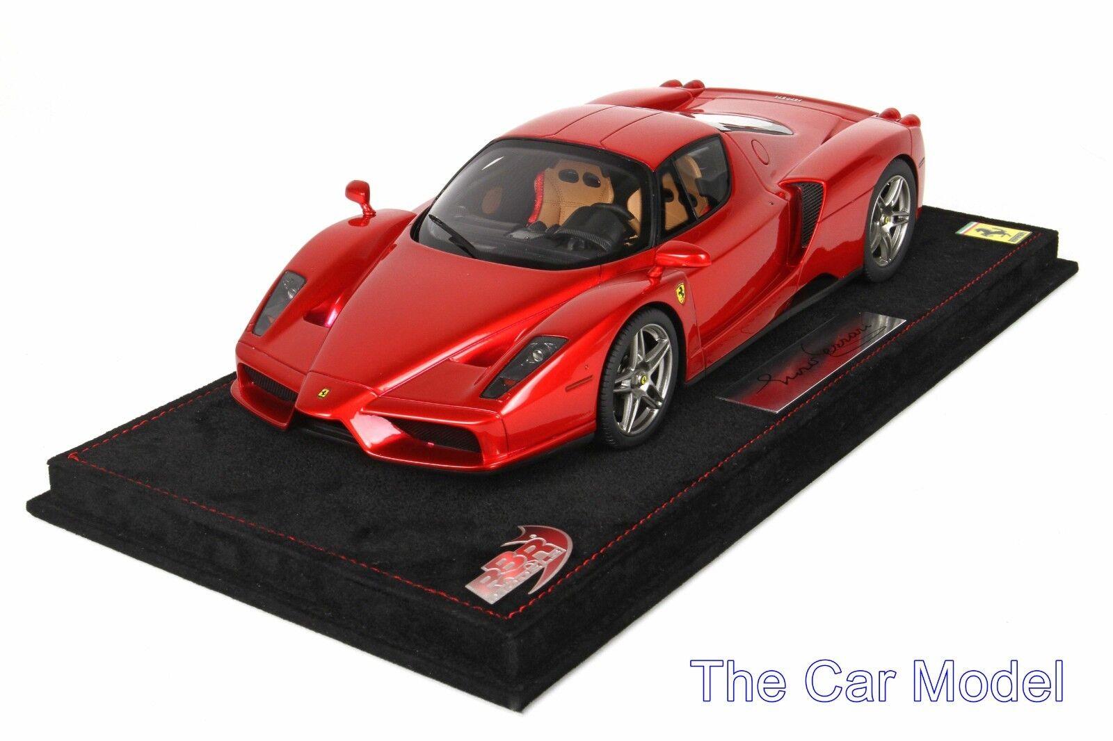 Ferrari Enzo se reunió rosso Con Vitrina limitada de 99 piezas de BBR 1 18 - No Señor