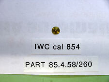 IWC cal 854 Hour wheel part  85 4 58                260