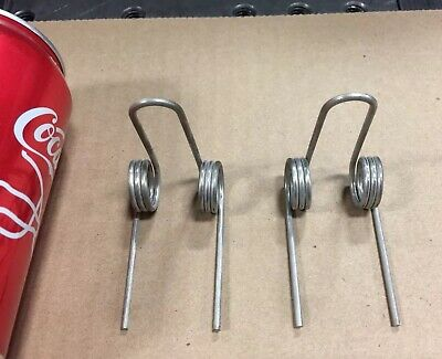 """.059"""" Wire Double Torsion Spring Lot Of 2"""