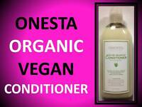 Onesta Organic Moisture Balancing Conditioner / Dry Damaged Hair Color Safe 8 Oz
