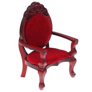 1-12-Dollhouse-Miniature-Mini-Carved-Peach-Shape-Chair-Furniture-AccessoriesJCAU
