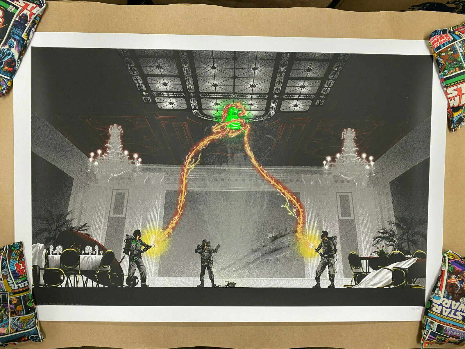 GHOSTBUSTERS Screen Print Poster #203/750 by Mark Englert on eBay thumbnail