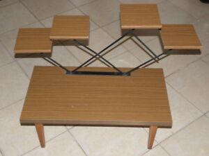 Table sellette gu ridon porte plante formica scandinave vintage design 50 loft ebay - Porte plante design ...