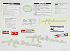 Poign/ées de guidon Aprilia Habana//Mojito 50 125 Retro Custom laser//argent