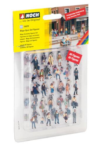 + NEU /& OVP NOCH 16070 H0 Mega Spar-Set mit 60 Figuren