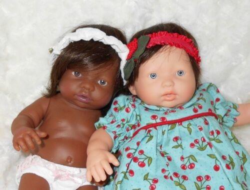 """Monique~Teeny Weenie~Human Hair Doll Wig~SZ 6//8~DK BROWN 3/"""" Partial Retail $16"""