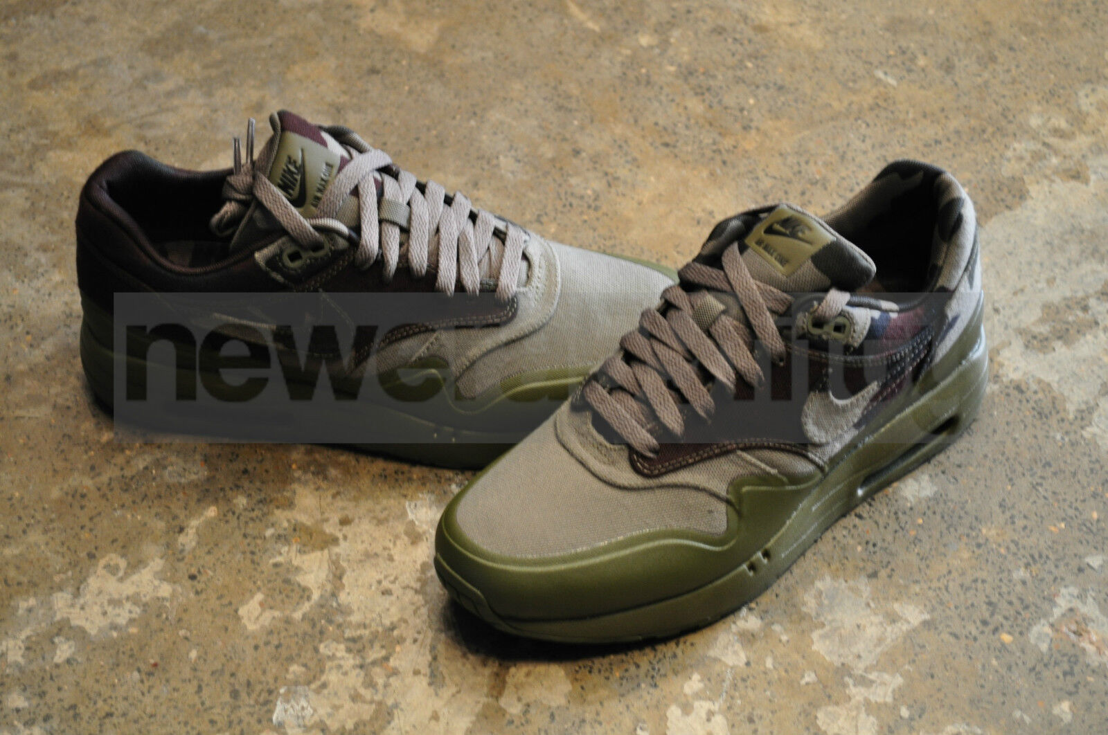 Details about Nike Air Max 1 Maxim France SP Medium OliveDark Army Camo Collection
